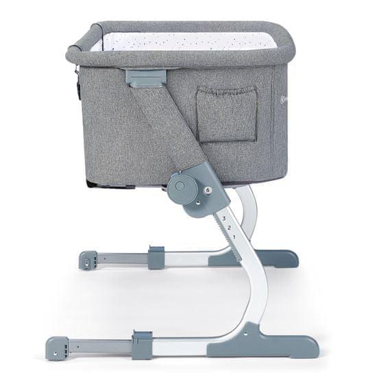 KinderKraft Uno UP otroška posteljica grey