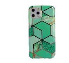 Glam ovitek za Samsung Galaxy S20, silikonski, zelen