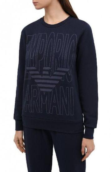 Emporio Armani Dámská mikina Emporio Armani tmavě modrá (navy) - S