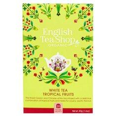 English Tea Shop Bílý čaj s tropickým ovocem BIO 20 sáčků