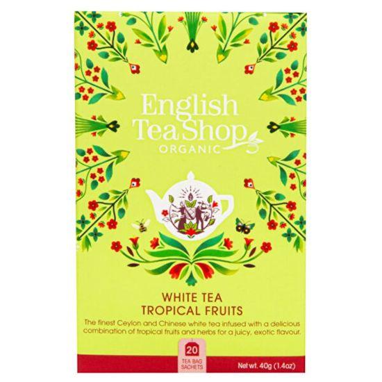 English Tea Shop Bílý čaj s tropickým ovocem 20 sáčků
