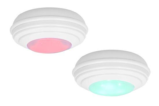 Grundig RGB svjetla s daljinskim upravljačem, 4 komada