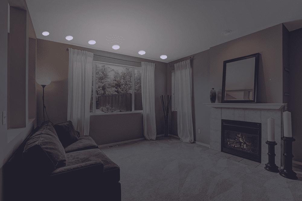 Grundig RGB světla s dálkovým ovladačem