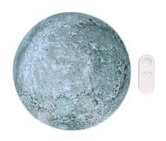 GRUNDIG Asztali lámpa a Hold imitációjával, 10cm átmérővel, távirányítóval
