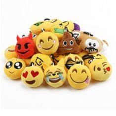 Emotion / Emoji / Smajlík, prívesok, 5cm, 21ks