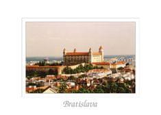 tvorme pohľadnica Bratislava VII