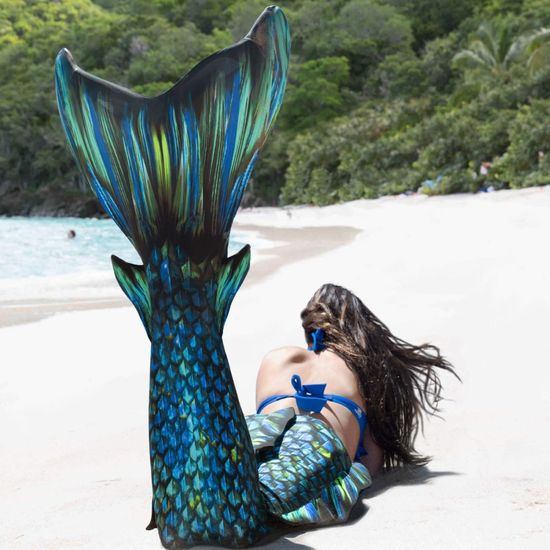 Fin Fun Kostým mořská panna SEA DRAGON s ploutví