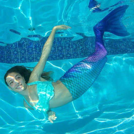 Fin Fun Kostým mořská panna LOTUS MOON s ploutví