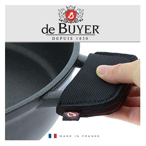 de Buyer Rękawice neoprenowe z uchwytem do ochrony termicznej, 2 szt, Pianki do garnków, 2szt