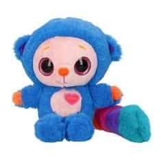 Ylvi and Minimoomis Plüss karakter Ylvi és a Minimoomis hangjával, Pooby, kék, szivárványos farokkal