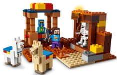 LEGO zestaw Minecraft 21167 Punkt handlowy