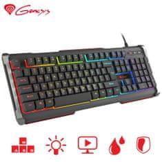 Genesis Rhod 400 RGB gaming tipkovnica, Anti-Ghosting