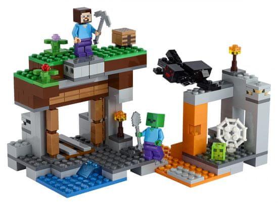 LEGO Minecraft 21166 Zapuščen dol