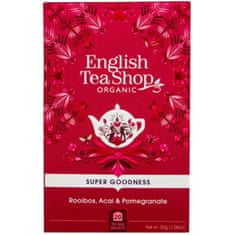 English Tea Shop Rooibos, ovocie acai a granátové jablko BIO 20 vrecúšok