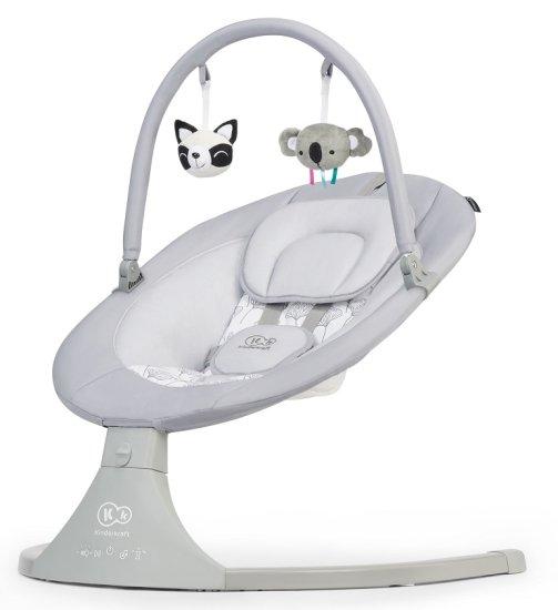 KinderKraft LULI električni ležalnik, siv