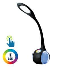 Platinet PDL20 stolna LED + noćna svjetiljka, crna