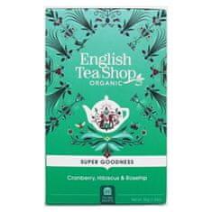 English Tea Shop Brusnica, ibištek a šípky BIO 20 vrecúšok
