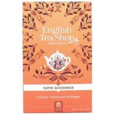English Tea Shop Kakao, škorica a zázvor BIO 20 vrecúšok