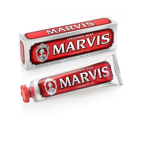 Marvis Zubní pastamátovo skořicová (Cinnamon Mint Toothpaste) 85 ml