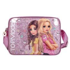 Top Model torba, Hayden + sladkarije, roza z bleščicami