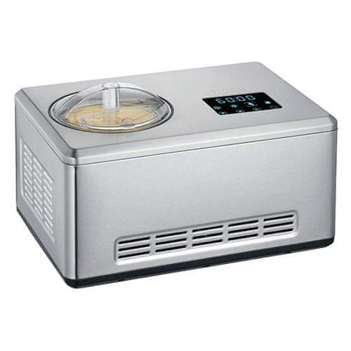 Severin Výrobník zmrzliny , EZ 7406, 2v1, LED dotykové ovládání, 2 L, kniha s recepty, zobrazení teploty, 180 W8