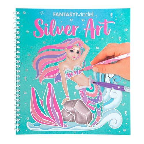 Top Model Pobarvanka | Fantazijski model Silver Art, Pobarvanka | Fantazijski model Silver Art