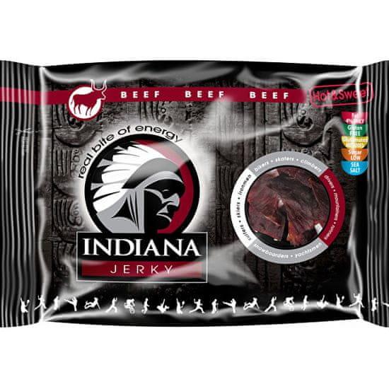 Indiana Jerky beef (hovězí) Hot & Sweet 100 g