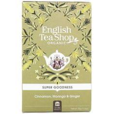 English Tea Shop Skořice, moringa a zázvor BIO 20 sáčků