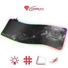 Genesis Boron 500 XXL podloga za miško in tipkovnico, RGB