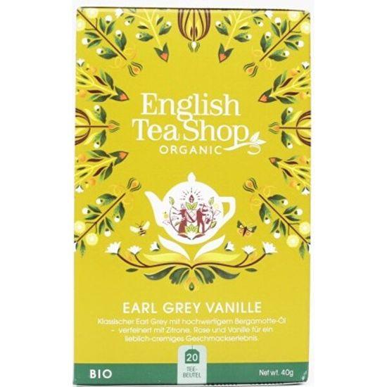 English Tea Shop Vanilka a Earl Grey BIO 20 vrecúšok