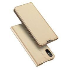 Dux Ducis Skin Pro knjižni kožené ovitek za Xiaomi Redmi 9A, zlato