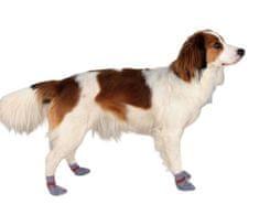 Trixie Protiskluzové šedé ponožky, 2 ks pro psy l (něm. ovčák)