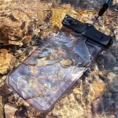 Vrečka za telefon, vodotesna, 16,51 cm, XXL, črna