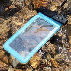 Vrečka za telefon, vodotesna, XXL, 16,51 cm, modra