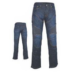 MAXX NF 2931 Pánské motocyklové kevlarové jeansy modré Velikost: XS