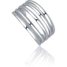 JVD Elegantní stříbrný prsten SVLR0270XH200 (Obvod 52 mm) stříbro 925/1000