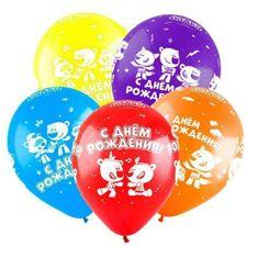 """Fun Balónek latexový 12 """"friends"""", medvědi, pasteloví"""