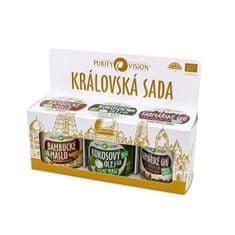 Purity Vision Kraljevski set (Bambucké máslo, Raw kokosový olej, Farmářské Ghí )