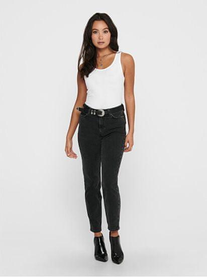 ONLY Ženska majica brez rokavov ONLLIVE LOVE LIFE 15060061 White