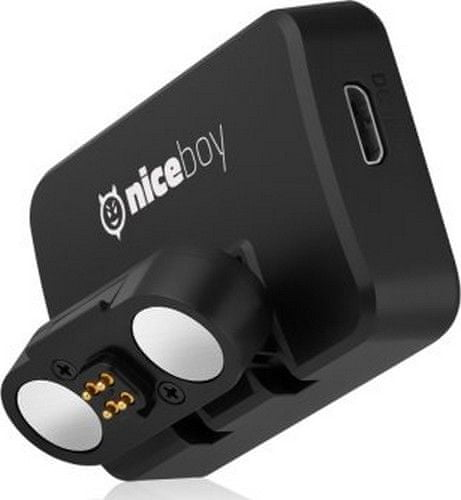 Niceboy Magnetický držák s GPS pro Niceboy Pilot XRS černá
