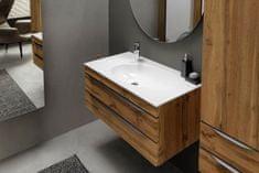KOLPA-SAN skříňka do koupelny s umyvadlem MALAYA OUM 80, dub