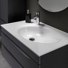 KOLPA-SAN skříňka do koupelny s umyvadlem MALAYA OUM 100, béžová
