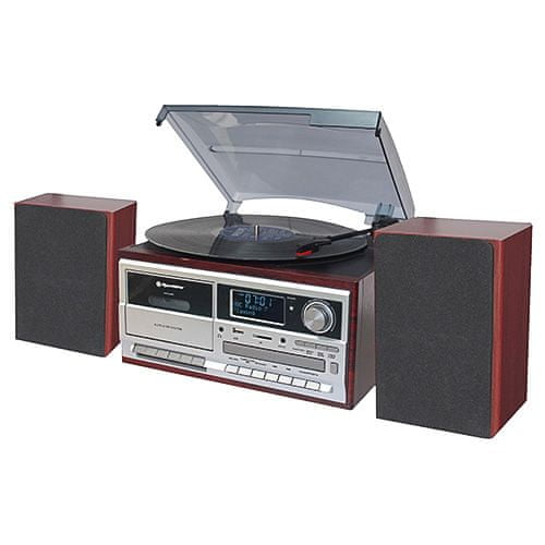 Roadstar HIF-8892 D+BT Stol. gramorádio s CD/MP3