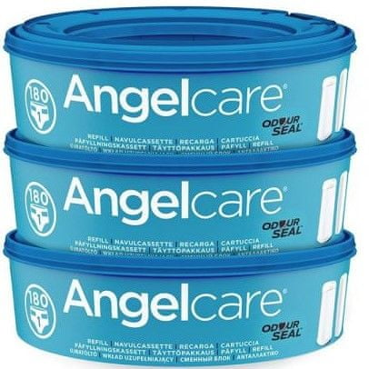 Angelcare Náhradní kazety 3 ks