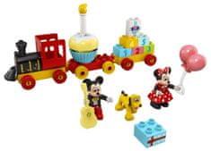 LEGO DUPLO 10941 Mickey és Minnie születésnapi vonata