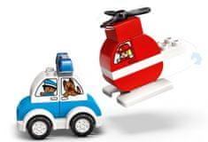 LEGO DUPLO 10957 Tűzoltó helikopter és rendőrautó