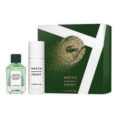 Lacoste Match Point toaletna voda, 100 ml + deodorant, v spreju, 150 ml
