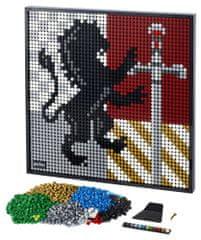 LEGO Art 31201 Harry Potter™ Erby rokfortských fakúlt