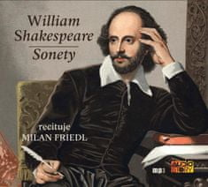 Shakespeare William: Sonety - MP3-CD