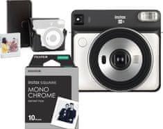 FujiFilm SQ6 White + Accessory Kit + 10 snímok a LED svetielka na zavesenie fotiek